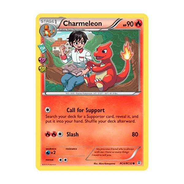 Pokémon TCG: Charmeleon (RC4/RC32) - Gerações