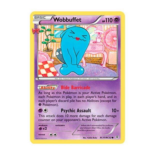 Pokémon TCG: Wobbuffet (RC11/RC32) - Gerações