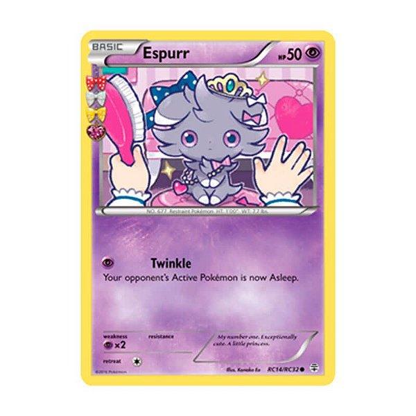 Pokémon TCG: Espurr (RC14/RC32) - Gerações