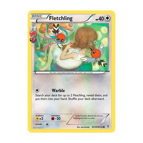 Pokémon TCG: Fletchling (RC25/RC32) - Gerações