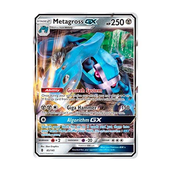 Pokémon TCG: Metagross GX (85/145) - SM2 Guardiões Ascendentes