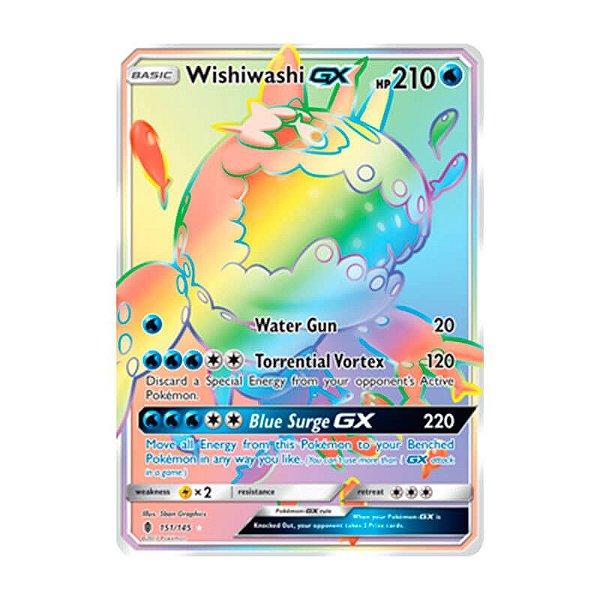 Pokémon TCG: Wishiwashi GX (151/145) - SM2 Guardiões Ascendentes