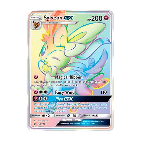 Pokémon TCG: Sylveon GX (158/145) - SM2 Guardiões Ascendentes