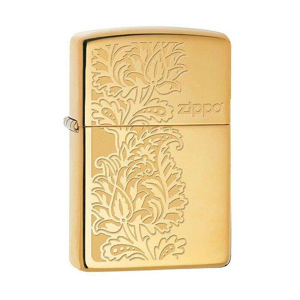 Isqueiro Zippo 29609 Classic Bronze Paisley Polido