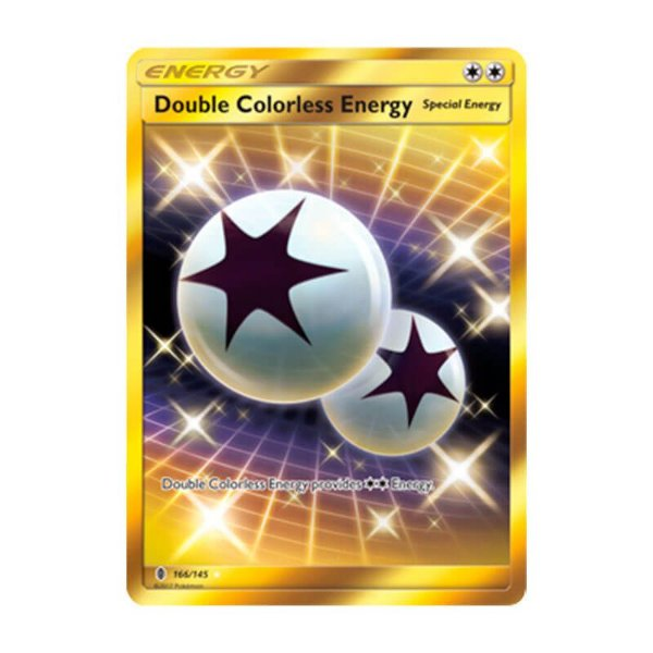 Pokémon TCG: Energia Incolor Dupla (166/145) - SM2 Guardiões Ascendentes