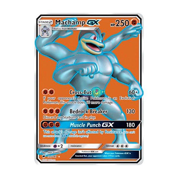 Pokémon TCG: Machamp GX (135/147) - SM3 Sombras Ardentes