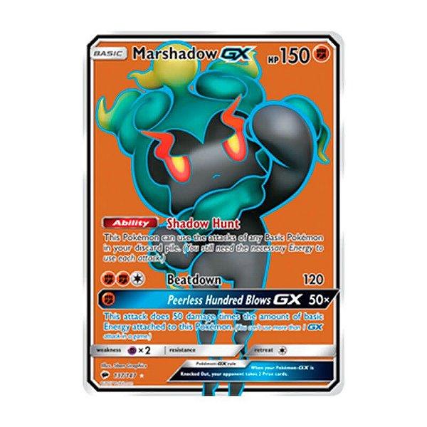 Pokémon TCG: Marshadow GX (137/147) - SM3 Sombras Ardentes