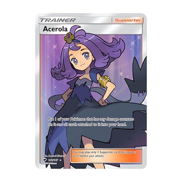 Pokémon TCG: Acerola (142/147) - SM3 Sombras Ardentes