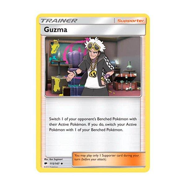 Pokémon TCG: Guzma (115/147) - SM3 Sombras Ardentes