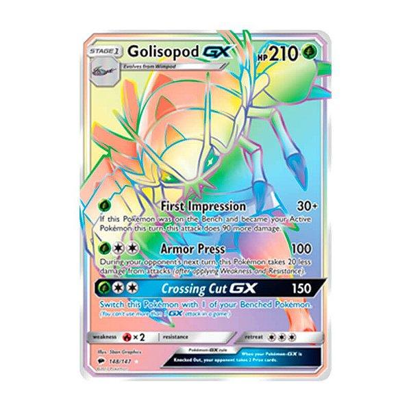 Pokémon TCG: Golisopod GX (148/147) - SM3 Sombras Ardentes