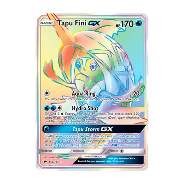 Pokémon TCG: Tapu Fini GX (152/147) - SM3 Sombras Ardentes