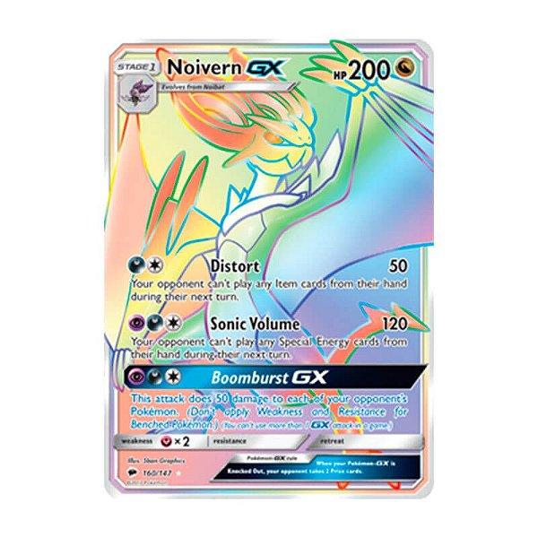 Pokémon TCG: Noivern GX (160/147) - SM3 Sombras Ardentes