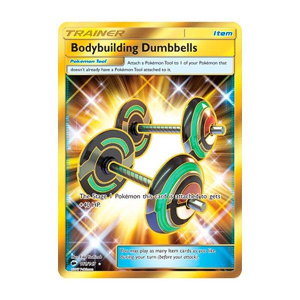Pokémon TCG: Halteres de Fisioculturismo (161/147) - SM3 Sombras Ardentes