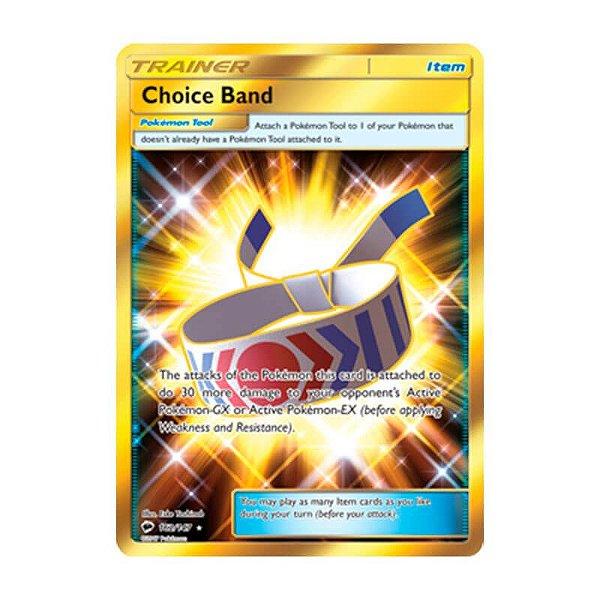 Pokémon TCG: Faixa da Escolha (162/147) - SM3 Sombras Ardentes