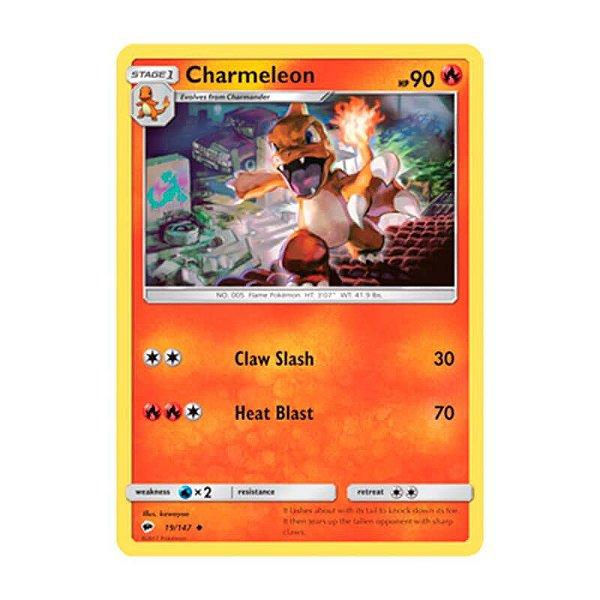 Pokémon TCG: Charmeleon (19/147) - SM3 Sombras Ardentes