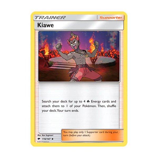 Pokémon TCG: Kiawe (116/147) - SM3 Sombras Ardentes
