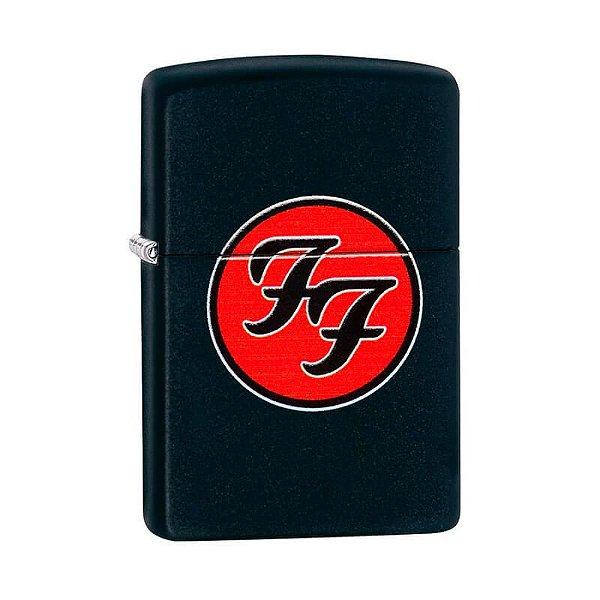 Isqueiro Zippo 29477 Classic Foo Fighters Preto