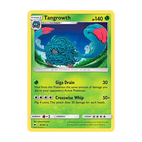 Pokémon TCG: Tangrowth (8/147) - SM3 Sombras Ardentes
