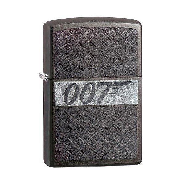Isqueiro Zippo 29564 Classic James Bond 007™ Acinzentado