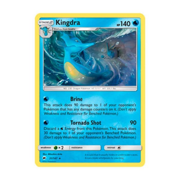 Pokémon TCG: Kingdra (31/147) - SM3 Sombras Ardentes