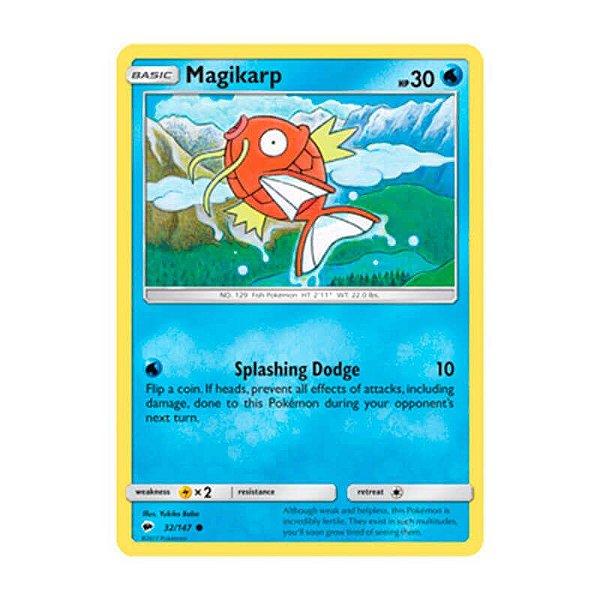 Pokémon TCG: Magikarp (32/147) - SM3 Sombras Ardentes