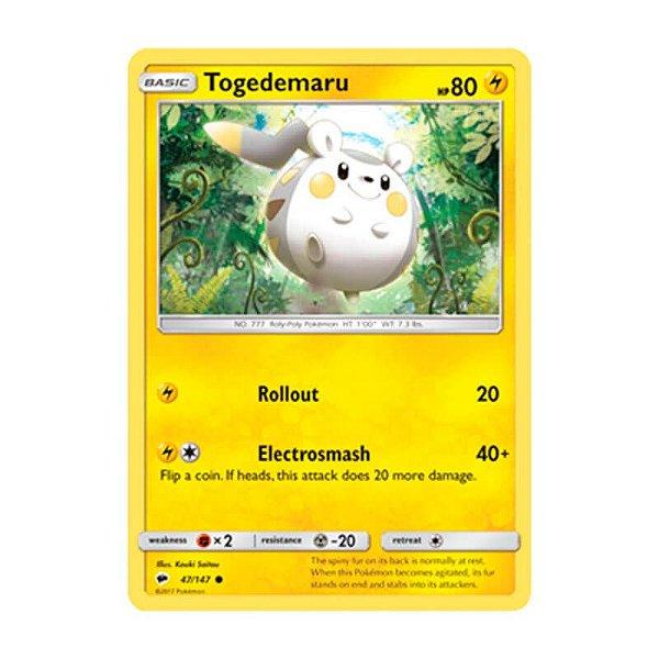 Pokémon TCG: Togedemaru (47/147) - SM3 Sombras Ardentes