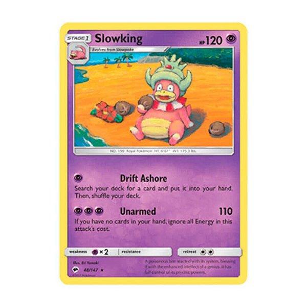 Pokémon TCG: Slowking (48/147) - SM3 Sombras Ardentes