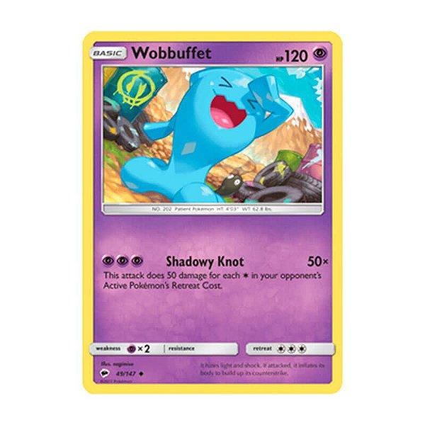 Pokémon TCG: Wobbuffet (49/147) - SM3 Sombras Ardentes