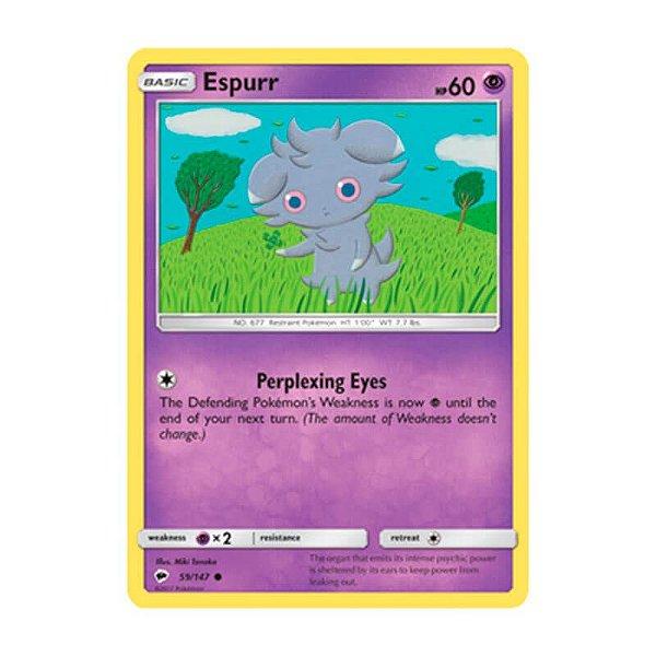 Pokémon TCG: Espurr (59/147) - SM3 Sombras Ardentes