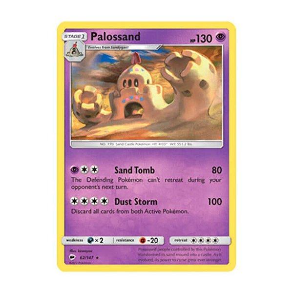 Pokémon TCG: Palossand (62/147) - SM3 Sombras Ardentes