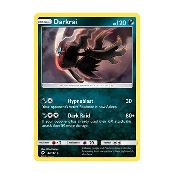Pokémon TCG: Darkrai (87/147) - SM3 Sombras Ardentes