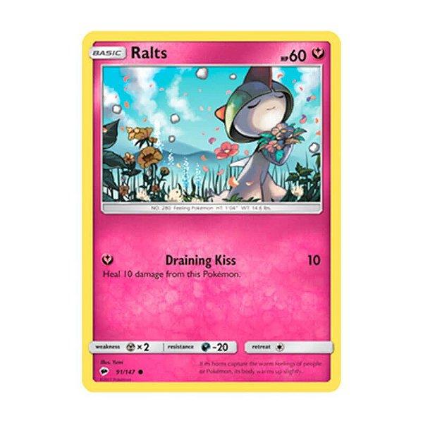 Pokémon TCG: Ralts (91/147) - SM3 Sombras Ardentes