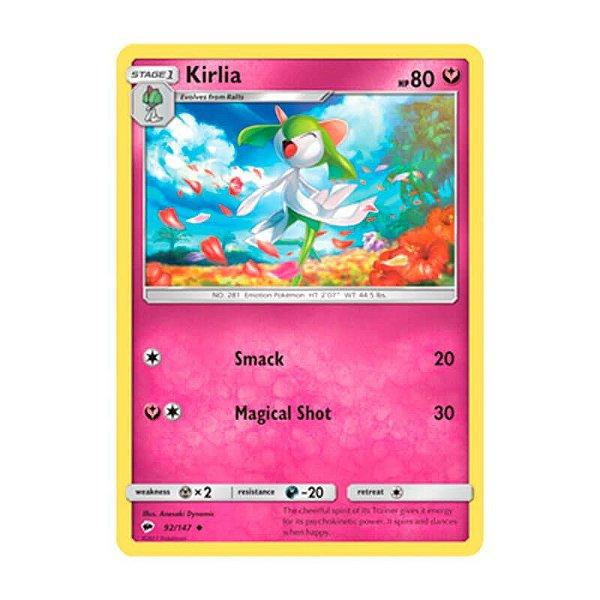 Pokémon TCG: Kirlia (92/147) - SM3 Sombras Ardentes
