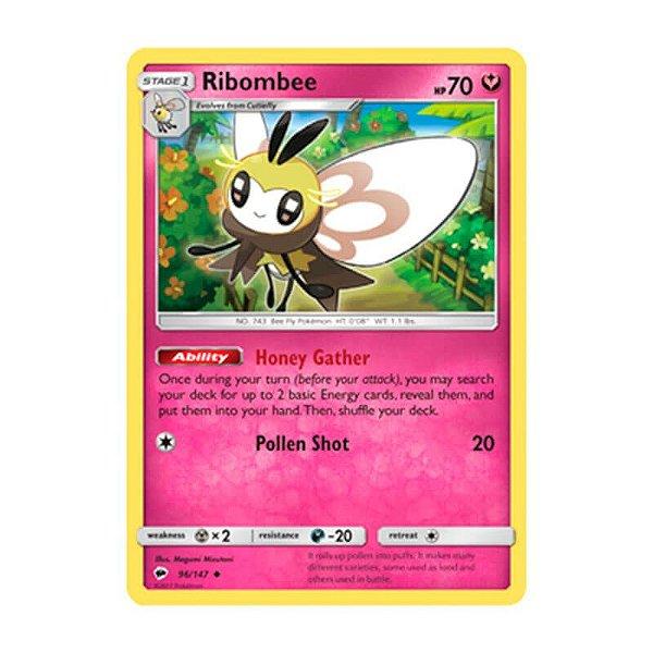 Pokémon TCG: Ribombee (96/147) - SM3 Sombras Ardentes