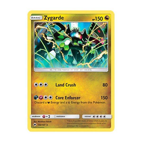 Pokémon TCG: Zygarde (100/147) - SM3 Sombras Ardentes