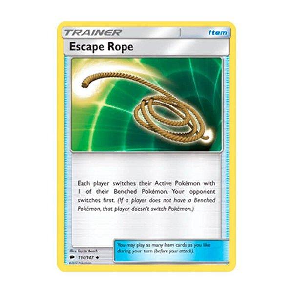 Pokémon TCG: Corda de Fuga (114/147) - SM3 Sombras Ardentes