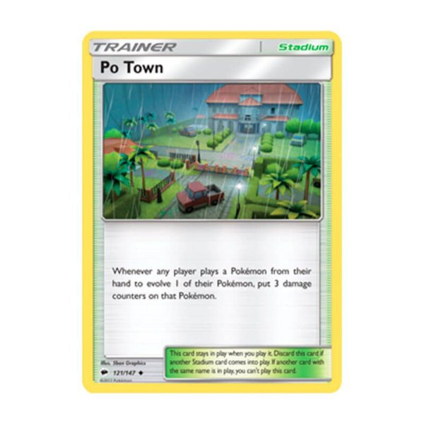 Pokémon TCG: Vila Pô (121/147) - SM3 Sombras Ardentes