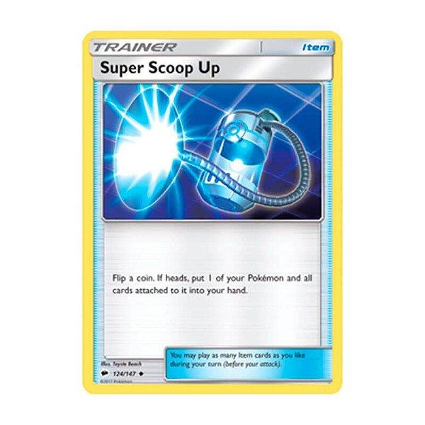 Pokémon TCG: Super Recolhida (124/147) - SM3 Sombras Ardentes
