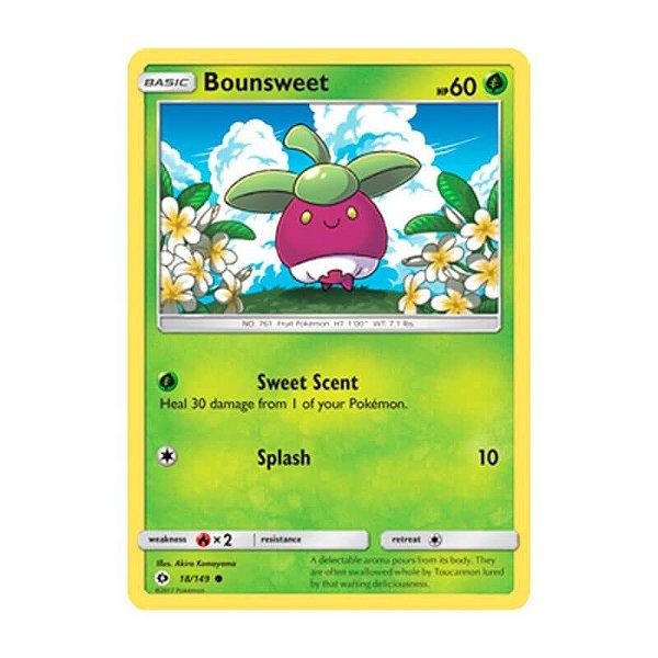 Pokémon TCG: Bounsweet (18/149) - SM1 Sol e Lua