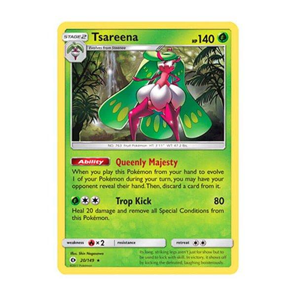 Pokémon TCG: Tsareena (20/149) - SM1 Sol e Lua