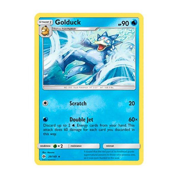 Pokémon TCG: Golduck (29/149) - SM1 Sol e Lua