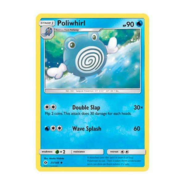 Pokémon TCG: Poliwhirl (31/149) - SM1 Sol e Lua