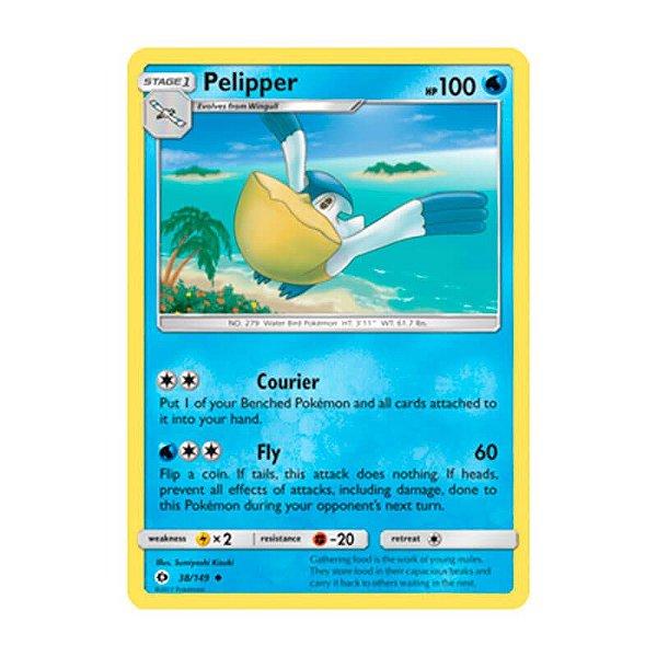 Pokémon TCG: Pelipper (38/149) - SM1 Sol e Lua