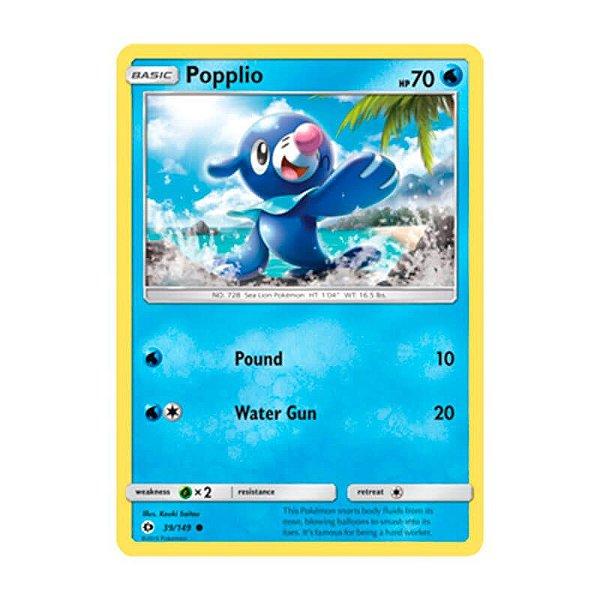 Pokémon TCG: Popplio (39/149) - SM1 Sol e Lua