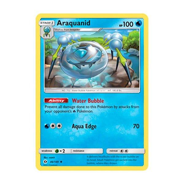 Pokémon TCG: Araquanid (46/149) - SM1 Sol e Lua