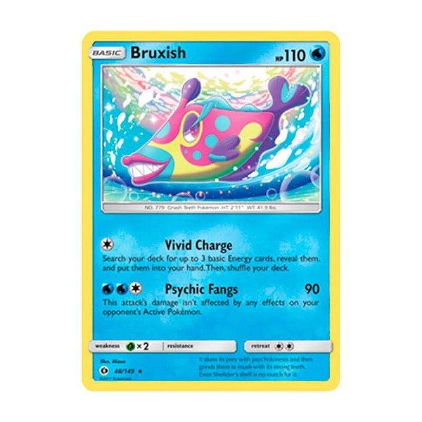 Pokémon TCG: Bruxish (48/149) - SM1 Sol e Lua