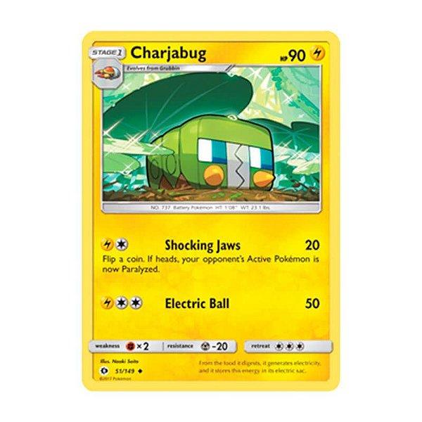 Pokémon TCG: Charjabug (51/149) - SM1 Sol e Lua