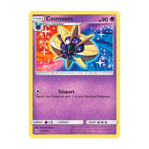 Pokémon TCG: Cosmoem (65/149) - SM1 Sol e Lua