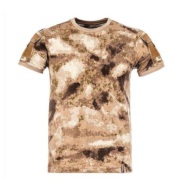 Camiseta Tática Camuflada Army A-Tacs Invictus