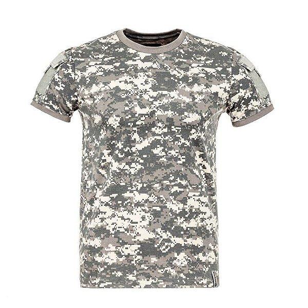 Camiseta Tática Camuflada Army Digital ACU Invictus